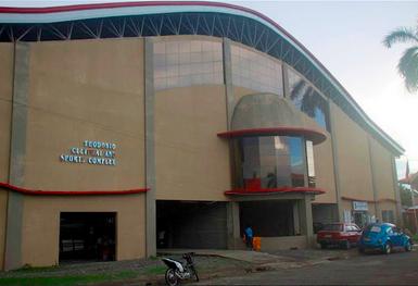 The newly-rehabilitated Banga Civic Center – July 2015